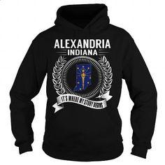Alexandria, Indiana - Its Where My Story Begins - #designer hoodies #hoodie sweatshirts. GET YOURS => https://www.sunfrog.com/States/Alexandria-Indiana--Its-Where-My-Story-Begins-Black-Hoodie.html?60505
