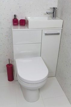 Pinning for the marvellous toilet. This would be super awesome in a WC with little room. Small bathroom ideas! #Toilets