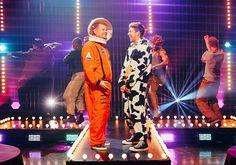 Niall and James - Halloween skit - #latelateshow