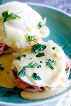 Eggs Benedict with Smoked Salmon (click on the recipe name to go to actual recipe)