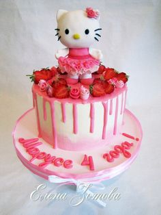 Hello Kitty Birthday Cake Cake Decorating Ideas In 2019