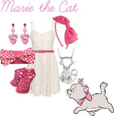 """""""Marie the Cat"""" by shannyogal on Polyvore"""