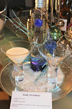 "White Christmas drink recipe  www.LiquorList.com  ""The Marketplace for Adults with Taste"" @LiquorListcom   #LiquorList"