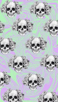 Skull Cellphone Wallpaper