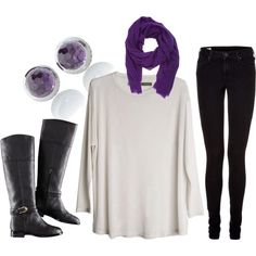 Okay, how fun is this? Have loved the color purple since I was a little girl.