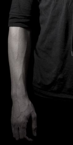 I'm not sure why but guys arm veins are bloody sexy. [x]