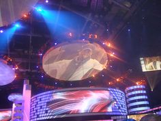 The stage at the 2009 Latin Billboards!