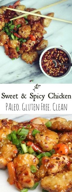 A gluten-free, paleo, clean version of Chinese takeout.