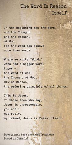#JesusCharacter #JesusIsReasonable
