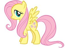 Fluttershy from My Little Pony: Friendship is Magic.