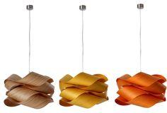 Wood chandeliers!