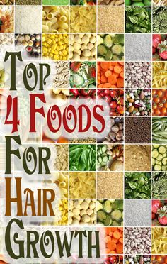 4 Foods For Hair Growth