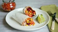 This is a budget-friendly version of burrito uses tinned beans and frozen…