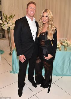 'He's a really, really hard worker': In an interview Bravo's The Daily Dish published Wednesday, Kim Zolciak praised her husband, American footballer Kroy Biermann