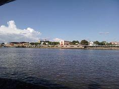 Orla da Cidade de Barcarena Velha (Pará - Brasil)