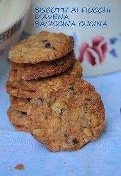 #Biscotti ai fiocchi d'avena#