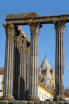 Temple of Diana - Evora, Portugal