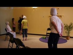 1 Hr Energizing Chair Yoga Class for Flexible & Fluid Joints - with Sherry Zak Morris - YouTube