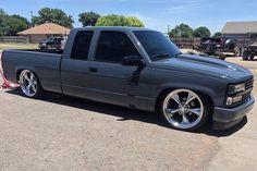 1998 Chevy Silverado, 85 Chevy Truck, Chevy Trucks Lowered, Silverado Crew Cab, Custom Chevy Trucks, Gm Trucks, Silverado 1500, Chevrolet Trucks, Cool Trucks