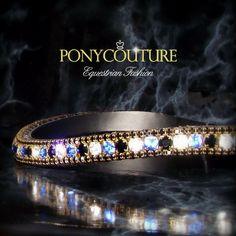 Triple Crown Alternating Crystal Browband #Handmade #blingbrowband #crystalbrowband #browband #horsetack #dressage #tack #horses #pony #ponies #dressage #dressagestyle #matchymatchy #dressur