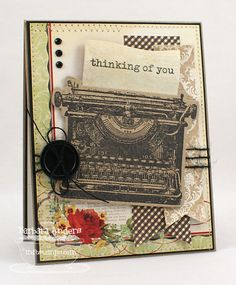 Eclectic Paperie: Thinking Of You by Barbara Anders