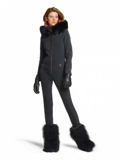 SKI SUIT MILA in Black for Unisex   BOGNER USA