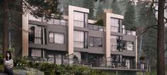 VrayWorld - Boligblokk Ramsdalen #3d-vizual #3d renders #architecture #3d visualization