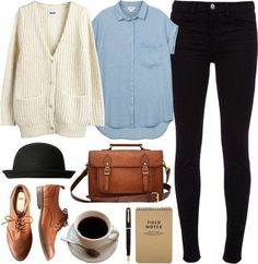 15 Faddish Möglichkeiten, Ihre Oxford Schuhe zu tragen 15 Faddish Ways To Wear Your Oxford Shoes - New Hairstyles Style 2018 Skip to content What are the best shoes for fall and rainy days? Here's a good answer for you: the Oxford shoes. The Oxford shoes Mode Outfits, Casual Outfits, Fashion Outfits, Womens Fashion, Gq Fashion, Hipster Outfits, Casual Clothes, Fashion Weeks, Korean Fashion