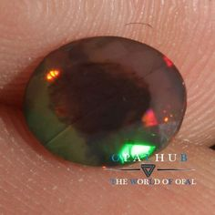 6x8 MM Natural Ethiopian Welo Fire Black Opal Faceted Cut Gemstone Play  786H