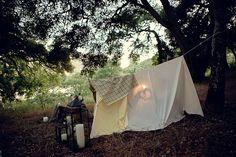 romantic campout.