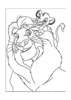 Guarda tutti i disegni da colorare del Re Leone www.bambinievacanze.com