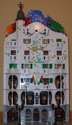 lego Gaudi. Too cool.