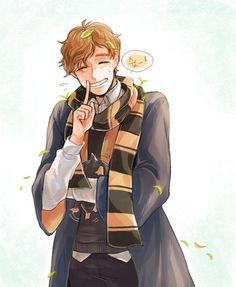 Harry Potter Artwork, Harry Potter Drawings, Harry Potter Anime, Harry Potter Memes, Fantastic Beasts Fanart, Fantastic Beasts And Where, Harry Potter Jk Rowling, Desenhos Cartoon Network, Hogwarts Mystery