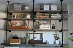 A great shelving idea..
