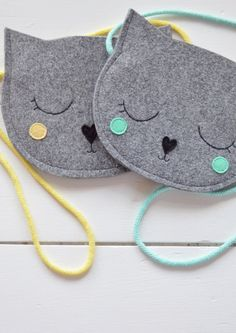 Kids bag Purse for girl Gift for girl Cat Bag Mini Grey Kids Purse, Cat Purse, Cat Bag, Gifts For Girls, Girl Gifts, Animal Bag, Girls Bags, Kids Girls, Sewing For Kids
