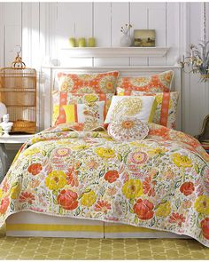 """Dena Home """"Meadow"""" Quilt and Sham Coordinates is on Rue. Shop it now."""