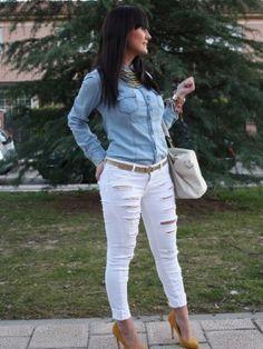 betrendyblog Outfit   Primavera 2013. Cómo vestirse y combinar según betrendyblog el 16-4-2013