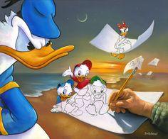 """""""Off the Page"""" by Jim Warren   Disney Fine Art"""