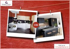 Which #kitchen would you like to choose for your home? #HomeDecor @gangotrigroup_