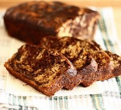 Marbled Banana Bread, you are looking mighty good today. Yes, we are flirting with you, and no, we are not ashamed.