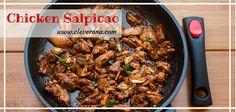 This Chicken Salpicao dish is of Spanish or Portuguese origin. You can even prepare and cook this yummy dish with this easy to follow recipe. Tasty Dishes, Portuguese, Chicken Recipes, Spanish, Beef, Cooking, Easy, Food, Koken