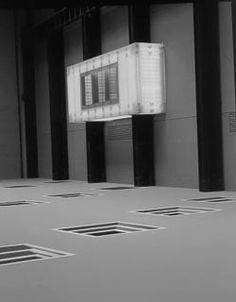 The Unilever Series: Juan Muñoz: Double Bind – Exhibition at Tate Modern Double Bind, Turbine Hall, Geometric Graphic, Installation Art, Monochrome, Flow, Display, Sculpture, Architecture