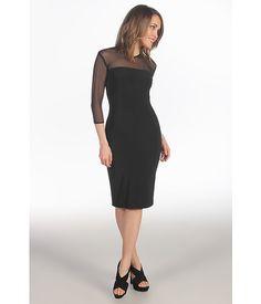 KAMALIKULTURE Three-Quarter Sleeve Strapless Dress To Knee, $96