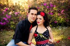Vintage couples photoshoot