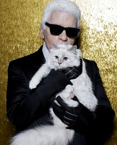 Being a Cat Lady Never Smelled Better, Thanks to Choupette Lagerfeld - http://www.popularaz.com/being-a-cat-lady-never-smelled-better-thanks-to-choupette-lagerfeld/