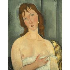 Portrait of a Young Woman, Amedeo Modigliani, 1916-1919, Dallas Museum of Art