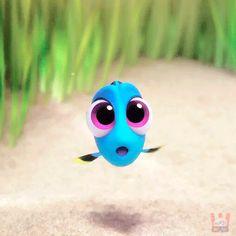 Imagen de blue, dory, and fish