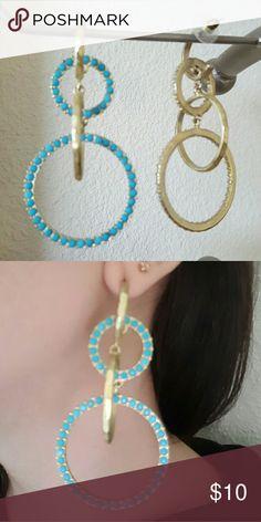 Long gold chandelier earrings Boutique | Gold chandelier earrings ...