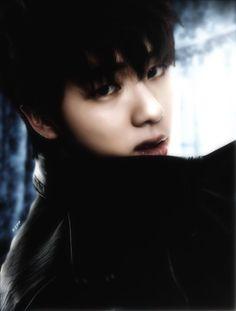 BTS Jin Boudoir style photo edit