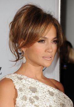 J Lo. Hair' and make up